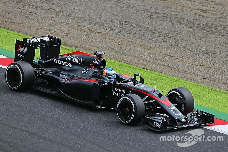 ألونسو شعر بالحرج من تأديّة سيارته في سباق اليابان