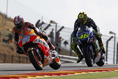 "Rossi: ""I tried everything, but Pedrosa was stronger"""