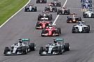 Rosberg a connu un problème moteur au départ à Suzuka