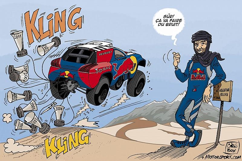 L'humeur de Cirebox - Loeb débarque sur le Dakar!