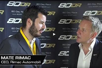 """Mate Rimac: """"La '80 Race Day' perfetta per l'elettrico"""""""