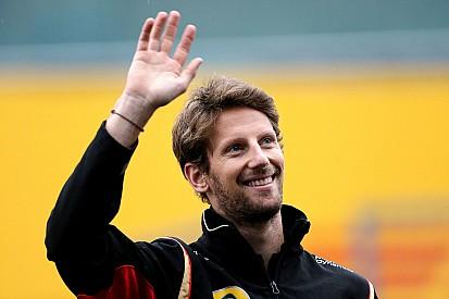 Il team Lotus saluta Grosjean con un video