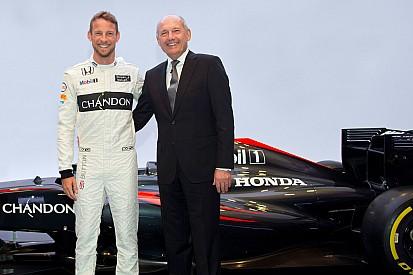 Officiel - Button reste chez McLaren pour 2016