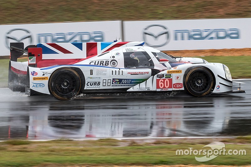 Shank scrambling after Petit Le Mans practice crash
