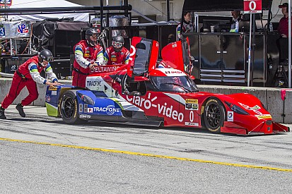 Army vet turned student working with the team at Petit Le Mans