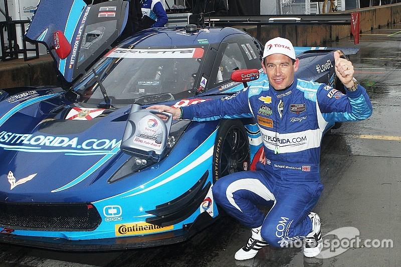 UPDATE: VisitFlorida.com Corvette DP on the Petit pole, but GT Le Mans cars close behind