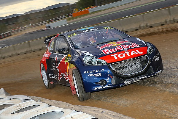 World Rallycross Sweden's Hansen leads Turkey RX after day one