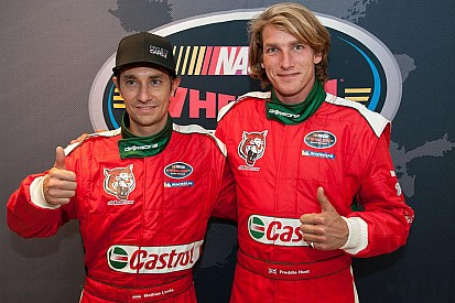 Freddie Hunt and Mathias Lauda to be teammates in Euro NASCAR