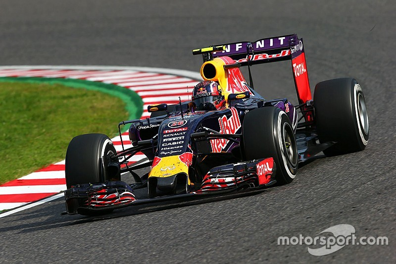 The Red Bull drivers and the Russian GP