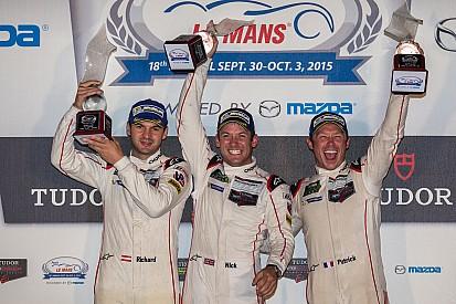 Victoria histórica de Porsche en Petit Le Mans