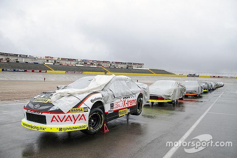 Se suspende la carrera de NASCAR México