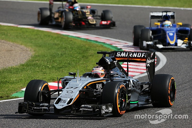Force India намерена догнать Williams