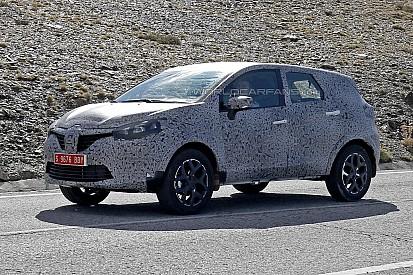 Clichés espion - Le Renault Grand Captur... capturé !