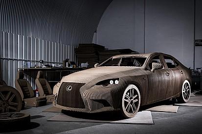 Diaporama - Lexus IS Origami, pas une voiture en carton!