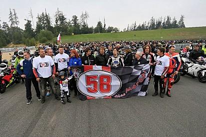 Свыше 3,5 тысяч мотоциклистов почтили память Симончелли в Брно
