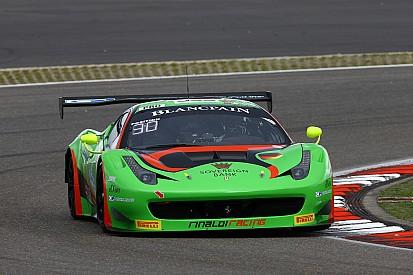 Bleekemolen a Zandvoort sulla Ferrari Rinaldi Racing