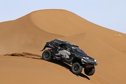Sainz heads Day 3 of Rally Morocco, Loeb rolls
