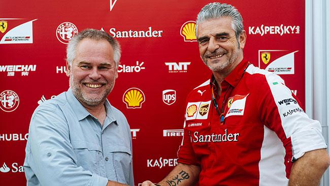 Ferrari e Kaspersky rinnovano l'accordo sino al 2021