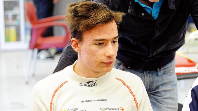Il Campos Racing porta Tereschenko in GP3 a Sochi