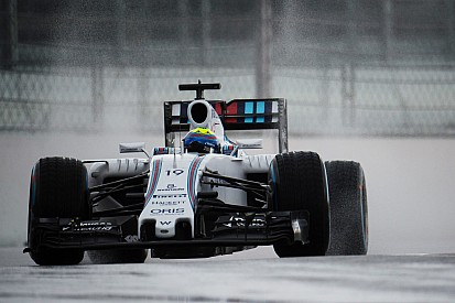 Russian GP: Massa quickest in rain-hit FP2