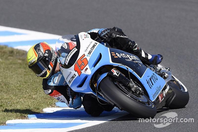 Bei Sturz: MotoGP-Fahrer Alex de Angelis erleidet Lungenverletzung