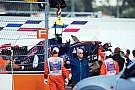 Nach Trainingscrash: Carlos Sainz unverletzt und ohne Schmerzen