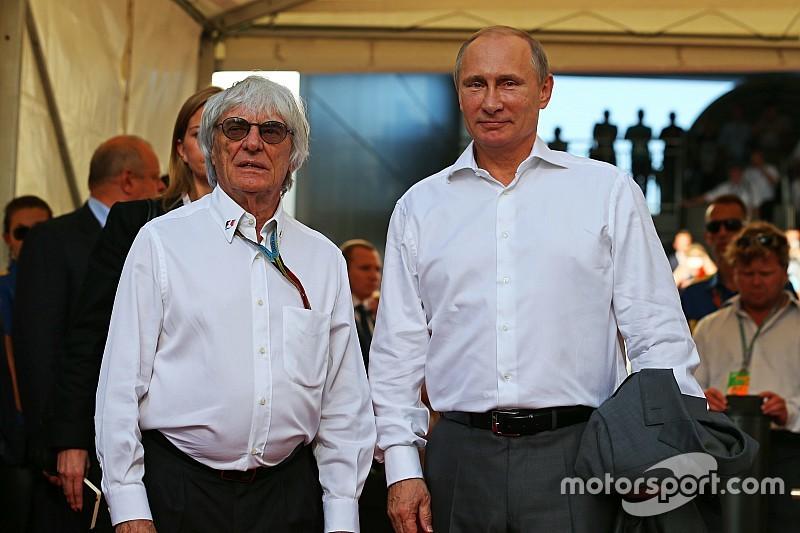 Экклстоун: Два Гран При в России – это возможно