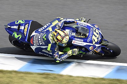 """Rossi admits he was """"lucky"""" to pick up Lorenzo's tow"""