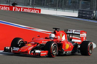 Ferrari fourth and fifth in Sochi