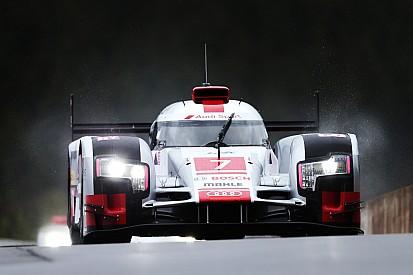 H+2 - La pluie met Porsche en difficulté, Audi leader
