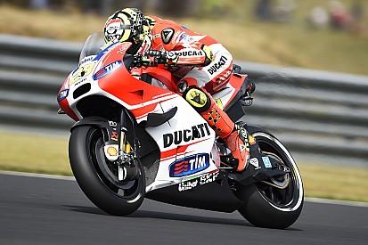 Andrea Iannone victime d'un problème moteur