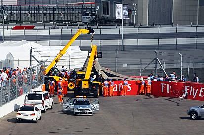 """Sainz se souvient """"de tout"""", Toro Rosso détaille l'accident"""