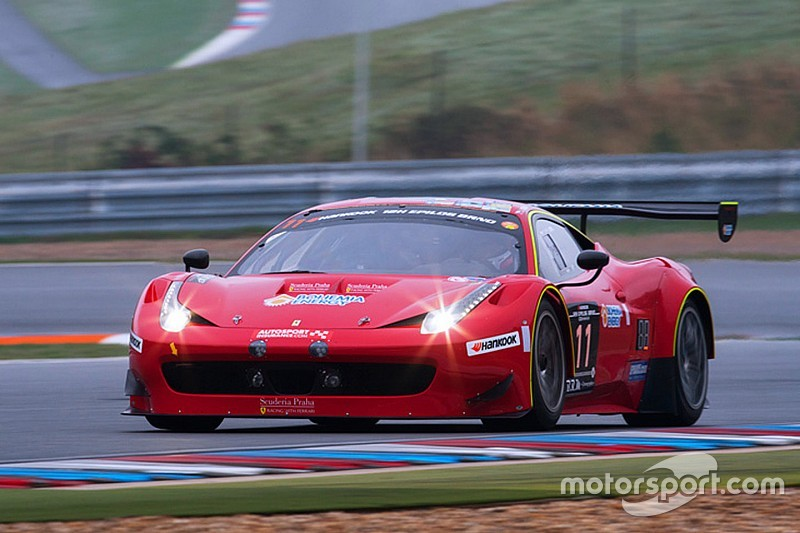 Local success as Scuderia Praha Ferrari wins 12H Epilog Brno