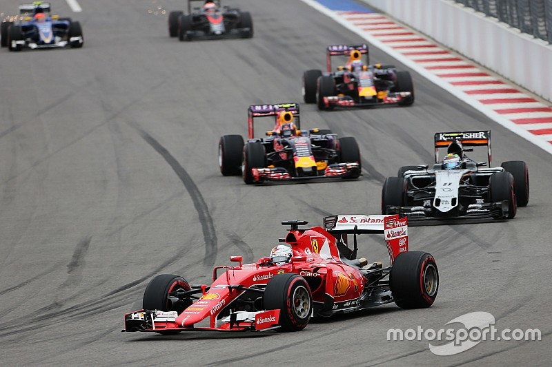 "Vettel dice que el rebase a Pérez fue ""fundamental"""