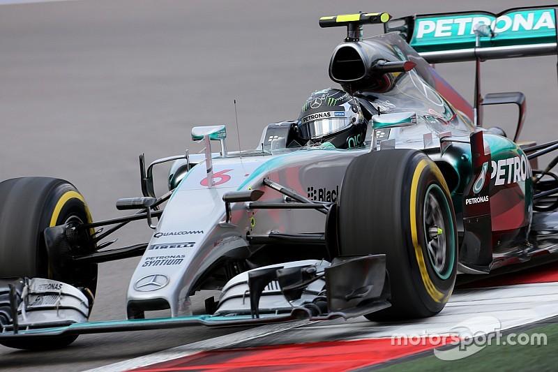 A Rosberg si è rotta solo la molla dell'acceleratore!