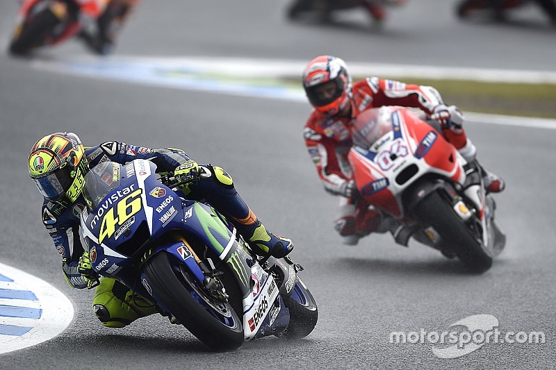 Yamaha secures 2015 Rider MotoGP title with double podium at damp Twin Ring Motegi