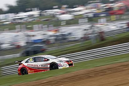 Brands Hatch BTCC: Shedden battles to title as Plato wins