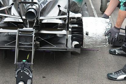 """Mercedes: ha funzionato la """"termocoperta"""" dei cestelli"""