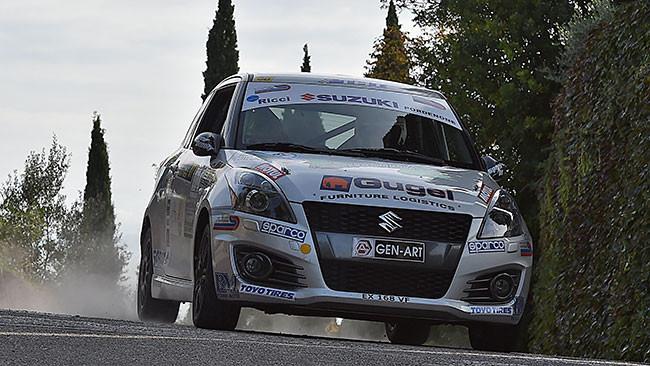 Suzuki Rally Trophy: il titolo va a Uliana