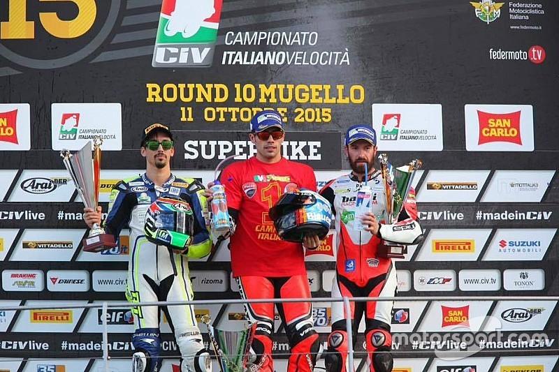 Michele Pirro si gode il suo quarto titolo Tricolore