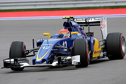 Nasr: 'Intense' Russian GP a boost for Sauber