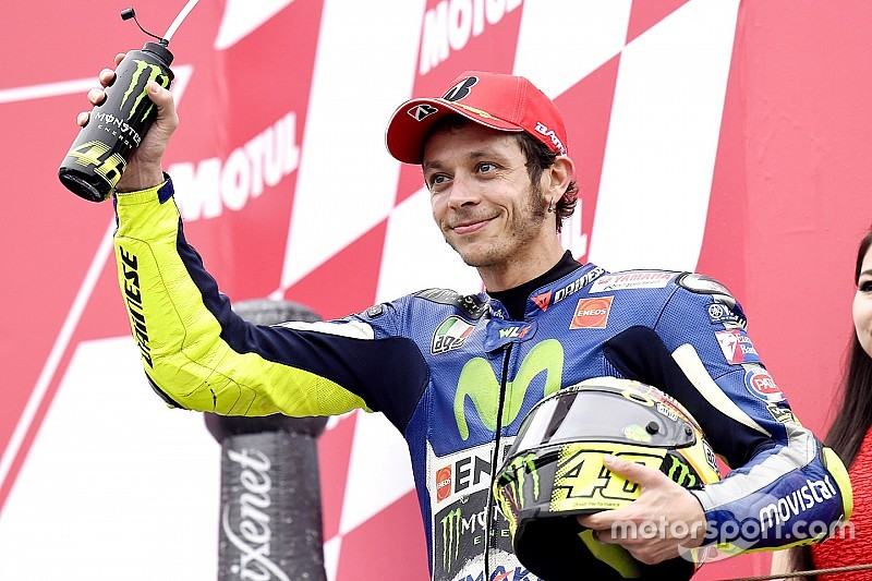 Rossi refuses to make title calculations despite points lead