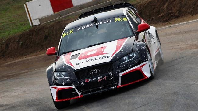 Nuova sfida per Morbidelli nel Mondiale Rallycross