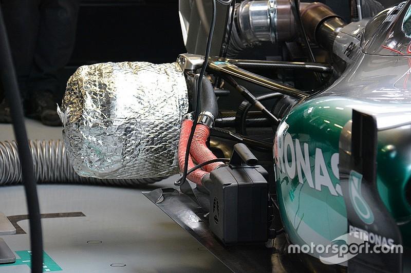 Technikanalyse: Warum Mercedes Bremsenwärmer einsetzt