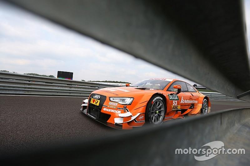 DTM-Finale in Hockenheim: Audi-Fahrer Jamie Green legt vor