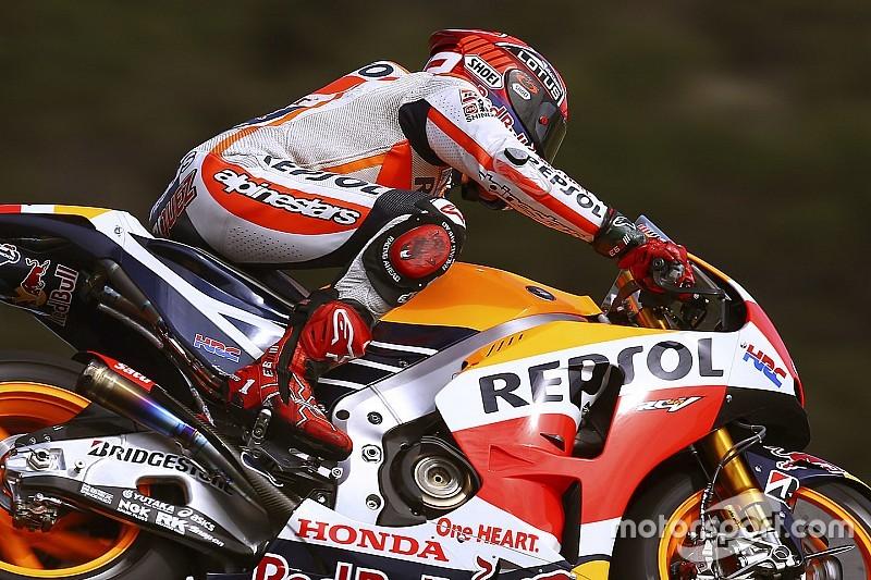 Strepitosa pole di Marquez, Valentino solo in terza fila