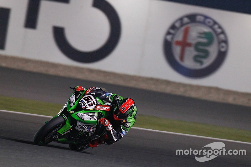 Qatar WSBK: Sykes beats Rea to take final pole of 2015