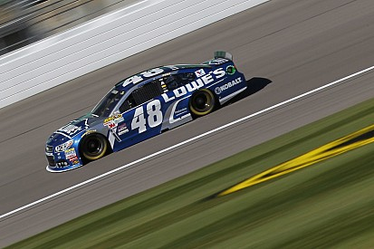 Jimmie Johnson tops Kansas Happy Hour