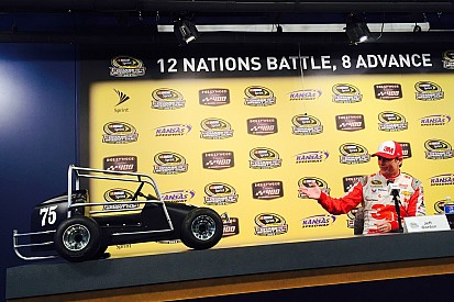 Gordon presented with replica of his first race car