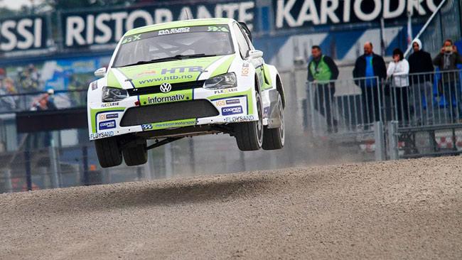Franciacorta, Rustad con la Polo è Campione EuroRX